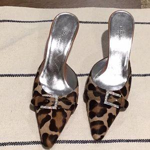 Dolce & Gabbana Animal Print Mule